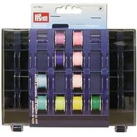 Prym 17 611980 Boîte Rangement pour 32 canettes, Polyester, Bleu, 3 x 13 x 16 cm