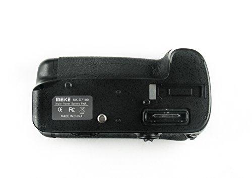 Profi Batteriegriff kompatibel mit Nikon D7100 - Ersatz für MB-D15 für ein Zusatzakku EN-EL15 oder 6 AA Batterien Sunpak Digital-batterie