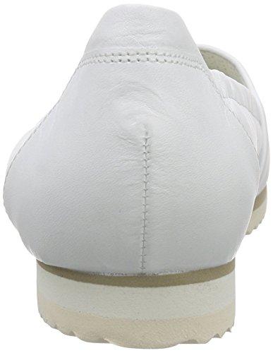 Donna White Gabor 21 Bianco Ballerine weiss wtwA15