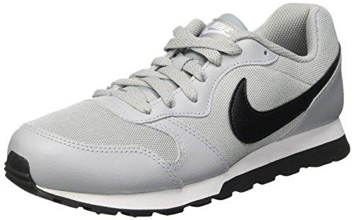 Nike Md Runner 2 Gs, Zapatillas de Running Niño, Gris (Wolf Grey / Black / White), 38 EU