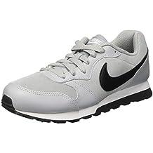 Nike MD Runner 2 (GS), Zapatillas de Gimnasia Para Niños