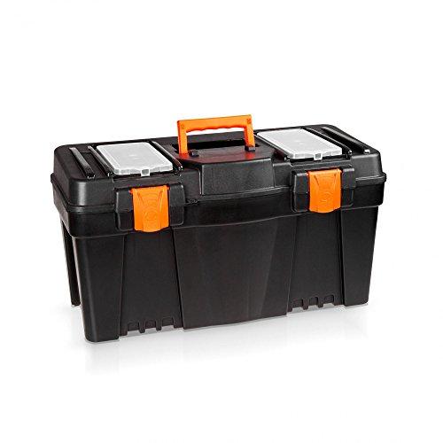 Kunststoff Werkzeugkoffer 60 cm - ORANGE LINE -