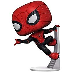 Funko- Pop Vinyl Far from Home: Spider-Man (Upgraded Suit) 11 Figura Coleccionable, Multicolor (39898)