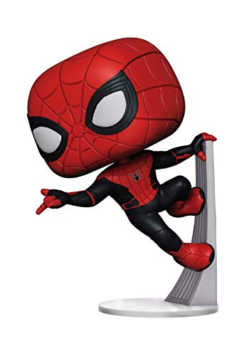 Funko- Pop Vinyl Far from Home: Spider-Man (Upgraded Suit) 11 Figura Coleccionable,...