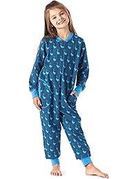 c5759a2de Merry Style Pijama Entero 1 Pieza Vestido de Casa 100% Algodón Niña ...