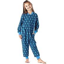 3249d9abe Merry Style Pijama Entero 1 Pieza Vestido de Casa 100% Algodón Niña ...