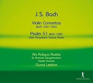 Bach: Violinkonzerte Bwv 1041-1043,1049/Psalm 51/+