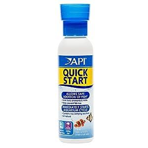 API Quick Start Freshwater and Saltwater Aquarium Nitrifying Bacteria 237 ml Bottle, Pack of 12 (Total 2.8 Litre)