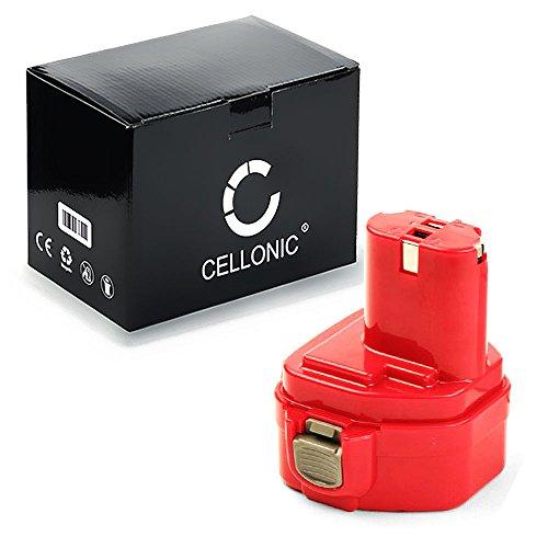 Preisvergleich Produktbild CELLONIC® Premium Akku (12V / 3000mAh) für 12V 3Ah NiMH für Makita 1220, 1222, 1233, 1234, 1235 / 6223D, 6227D, 6271D, 6271DWAE, 8271D, ML120 Ersatzakku Batterie Werkzeugakku