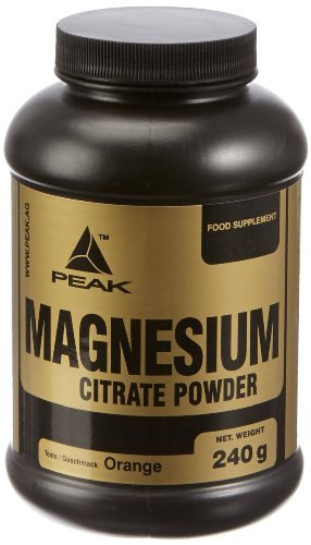 #Peak Magnesium Citrate Orange, 1er Pack (1 x 240 g)#