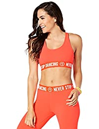 Zumba Fitness Damen Never Stop Dancing Scoop Bra