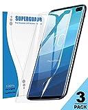 TopACE Vetro Temperato Samsung Galaxy S10 Plus, (3 pezzi) Schermo Trasparente Ultra Thin HD [Anti-Oil] [Anti-Scratch] Proteggi schermo intero Bubble Free per Samsung Galaxy S10 Plus