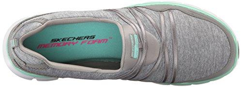 Ladro Menta Sinergia Femme Sneakers Skechers Bassi Grigio Scena qx0wgg5OE