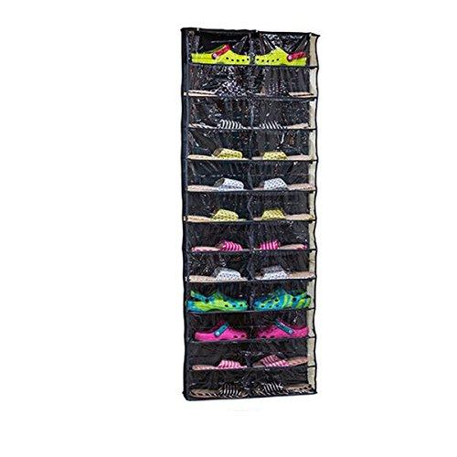 WINOMO Schuhe-Aufbewahrungstasche Hängeorganizer Tür-Schuhregal Regal über dem Schuh Organisatoren Tür Regal hängen hängen
