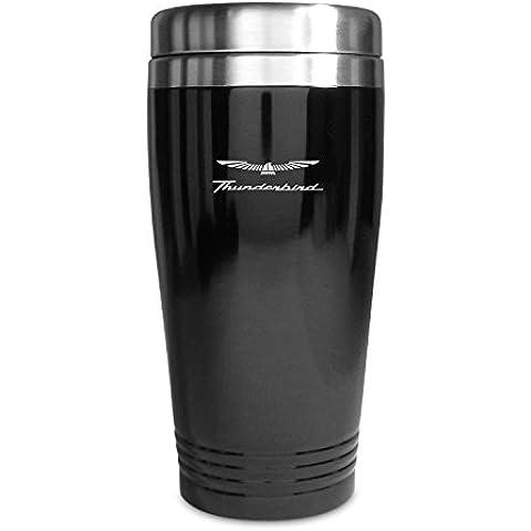 Ford Thunderbird taza de viaje negro