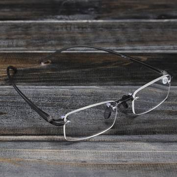 New 2007 products Grey Rimless Light Presbyopic Reading Glasses Fatigue Relieve Strength 1.0 1.5 2.0 2.5 3.0 (2.5)