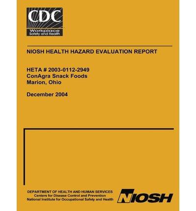 niosh-health-hazard-evaluation-report-heta-2003-0112-2949-conagra-snack-food-marion-ohio-by-centers-