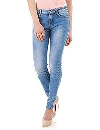 La Modeuse - Jeans délavé classique