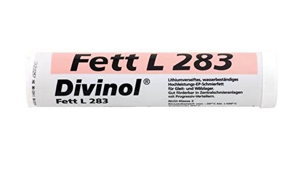 Fettkartusche Divinol Kp2k 30 Fett L 283 400g Mehrzweckfett Sehr Gute Walkstabilität Druckbeständig Und Wasserabweisend Auto