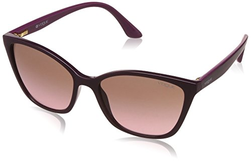 Vogue Gradient Square Women's Sunglasses - (0VO5117SI24721456|56|Light Grey Gradient Dark Grey Color) image
