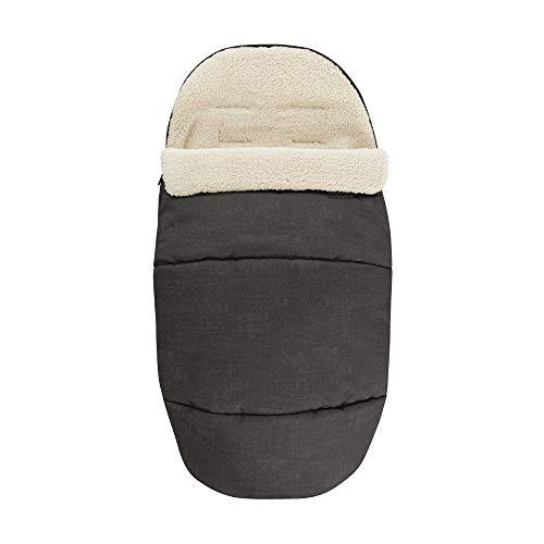 Bébé Confort Daunenschlafsack mit Fleece bezogen für Kinderwagen und Sitzverkleinerer Nomad Black