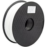 Anycubic Stampante 3D PLA Filament 1.75mm - 1kg bobina (2,2 lbs) - Precisione Dimensionale +/- 0,02mm (White colour)