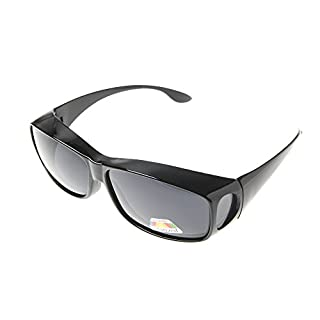 ASVP Shop® Polarised Overglasses - Sunglasses to Wear Over Glasses - For Driving