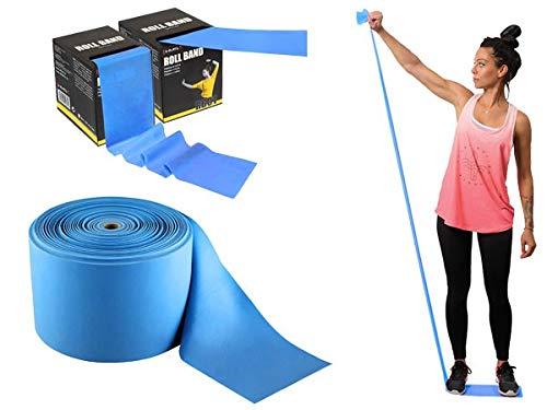 hms 17-34-011 5907695508123 - fascia elastica per esercizi, taglia unica, colore: blu
