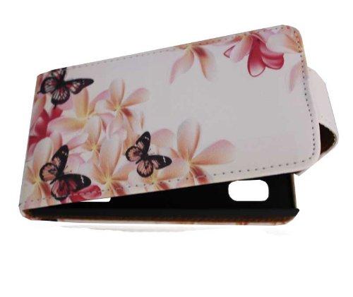 Handy Tasche Case Flip für LG E610 Optimus L5 / Handytasche Hülle...