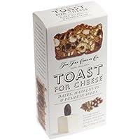 Früchtebrot-Toast für Käse - Mit Datteln, Haselnüssen und Kürbiskernen