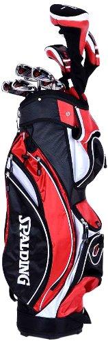 Spalding DX22 MRH Herren Golfschläger-Set mit Tasche, für Rechtshänder