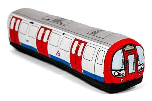 London Underground 3D Tube Train Plush Toy Cushion - Large 80cm