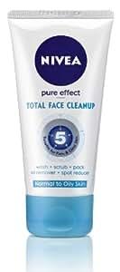 Nivea Visage Pure Effect Total Face Cleanup, 150 ml