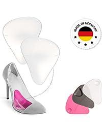 SEMELLES pour Chaussures à Talons - Portez vos talons hauts sans avoir mal aux pieds grâce à une zone ciblée de soulagement de la douleur - Coussinets en Silicone Gel Support Voûte plantaire