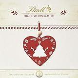 Lindt Frohe Weihnachten Pralinen, 7 unterschiedliche Sorten: Lebkuchen Herz, Makrone, Nuss Nougat gold, 2er Pack (2 x 167 g)