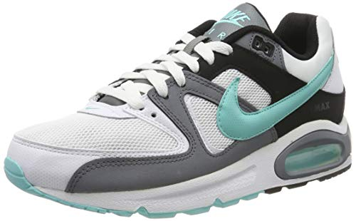 Nike Herren AIR MAX Command Laufschuhe, Weiß (White/Aurora Green/Cool Grey/Black 110), 44 EU
