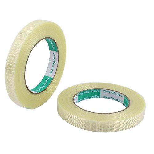 sourcingmapr-2-piezas-de-15-mm-de-altura-50m-longitud-larga-adhesiva-aislante-rejilla-de-fibra-de-vi