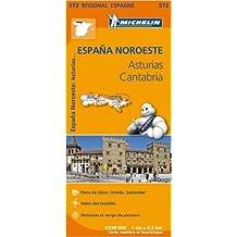 Carte Espagne Asturies Cantabrique Michelin (Néerlandais) de Collectif MICHELIN ( 23 mars 2013 )
