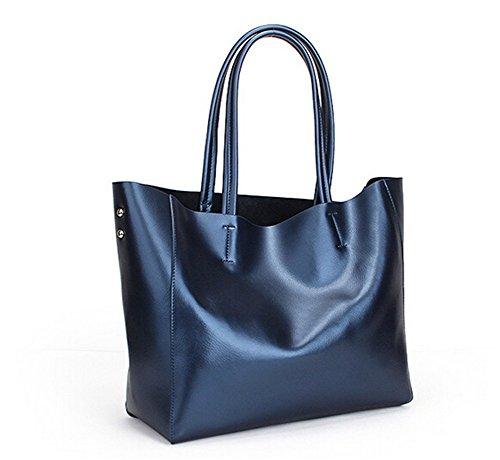 Santwo  BB0078-black, Sac à main pour femme negro small azul