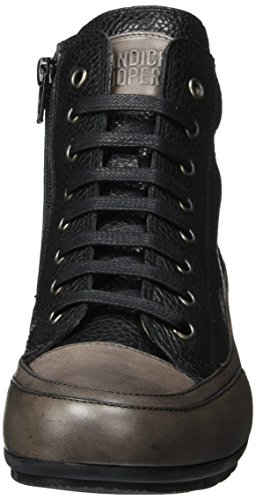 Candice Cooper Ladies Kuki Nappa High Sneaker Nero (nero)