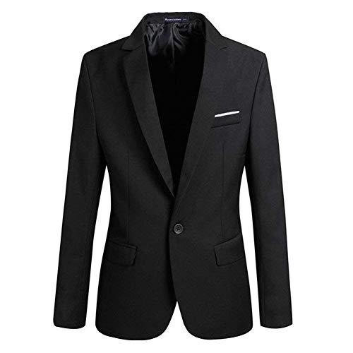Huixin Giacca Sportiva da Uomo Elegante Giacca Casual da Uomo Blazer Un con Skinny Slim Fit Giacche Eleganti da Lavoro