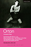 Orton Complete Plays: Entertaining Mr Sloane; Loot; What the Butler; Ruffian; Erpingham Camp; Funeral Games; Good & ...
