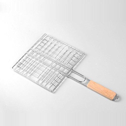 SINCERE@ clip Poissons grillés en acier inoxydable poissons outils accessoires de barbecue de barbecue de poisson clip clip net barbecue essentiel