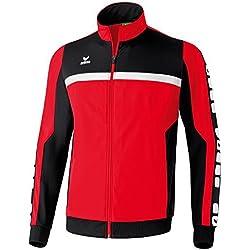 ERIMA 5Cubes Sport Men's Jacket red rouge - Rouge - Rouge/noir/blanc Size:XXX-Large by Erima