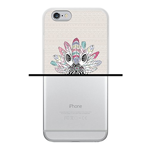 iPhone 6 6S Hülle, WoowCase Handyhülle Silikon für [ iPhone 6 6S ] Liebe Streifen Handytasche Handy Cover Case Schutzhülle Flexible TPU - Transparent Housse Gel iPhone 6 6S Transparent D0262