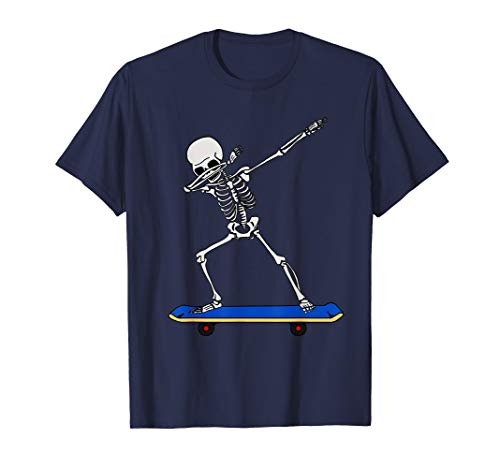 Sketell mit Skateboard DAB Tshirt Geschenkidee für Skater