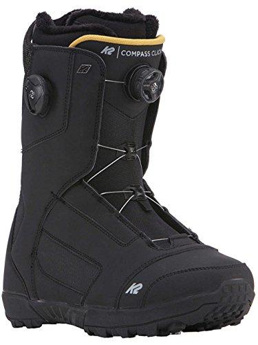 Herren Snowboard Boot K2 Compass Clicker 2018 Snowboardboots (K2 Snowboard Boots Herren)