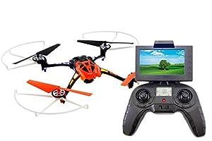 XciteRC 15014200-Rocket 2503D FPV, 4Canal RTF cuadricóptero, Naranja