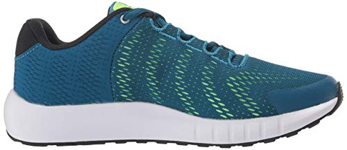 Under Armour Unisex-Kinder Grade School Pursuit Laufschuhe, Grün (Teal Vibe 401), 37.5 EU (Grün Laufschuhe Under Armour)