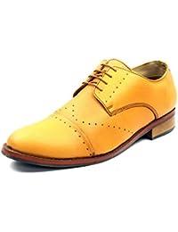 Bancini Brown Brogue Shoes For Men